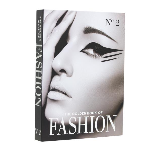 Book Box Golden Book Of Fashion Vol. 2 36x27x5cm - Goods Br