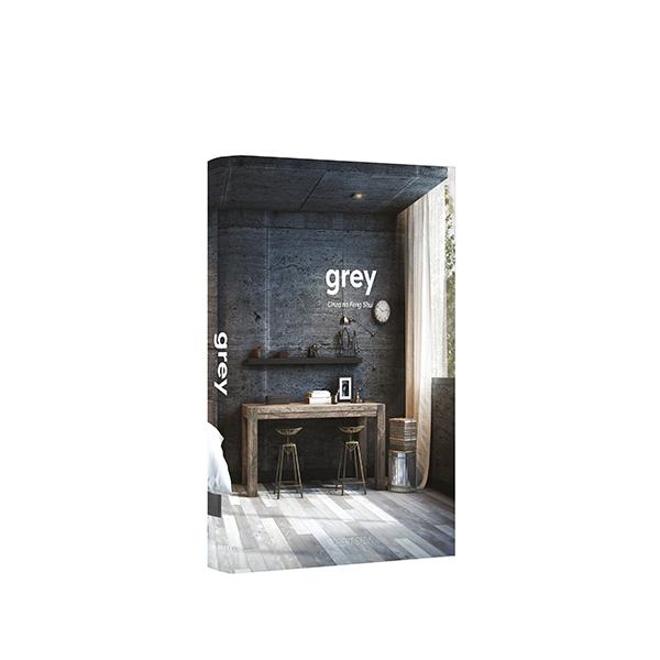 Book Box Grey 30x24x4cm - Goods Br  - Haus In