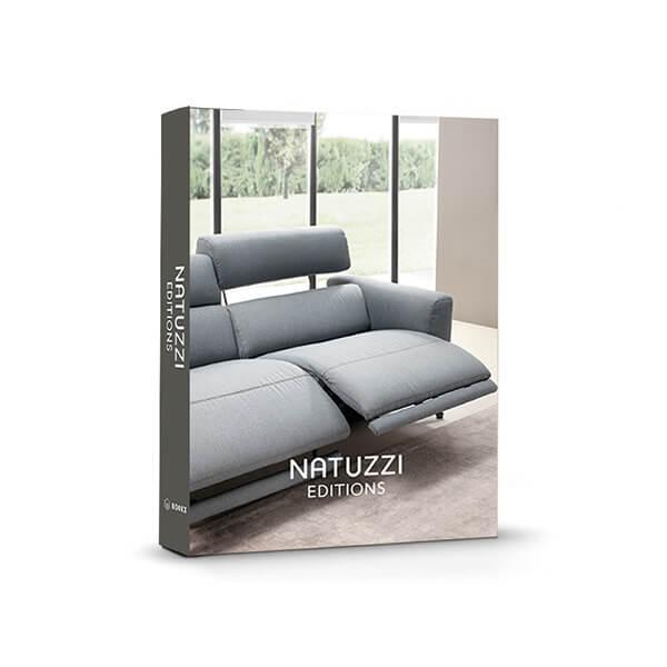 Book Box Natuzzi Sofá Cinza 30x24x4cm - Goods Br  - Haus In