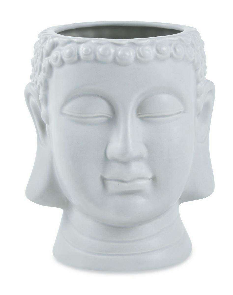 Buda Cinza em Cerâmica - Mart Collection