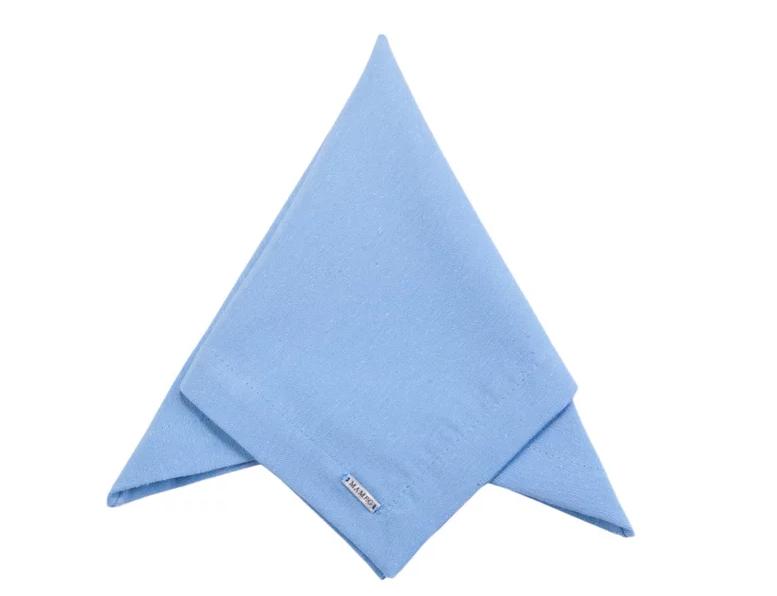 Guardanapo Liso Azul Bebê - Mameg