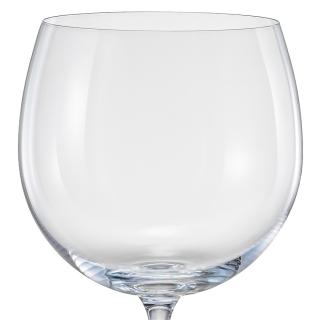 Jogo de 6 Taças para Água em Cristal Ecológico 580ml - Full Fit  - Haus In