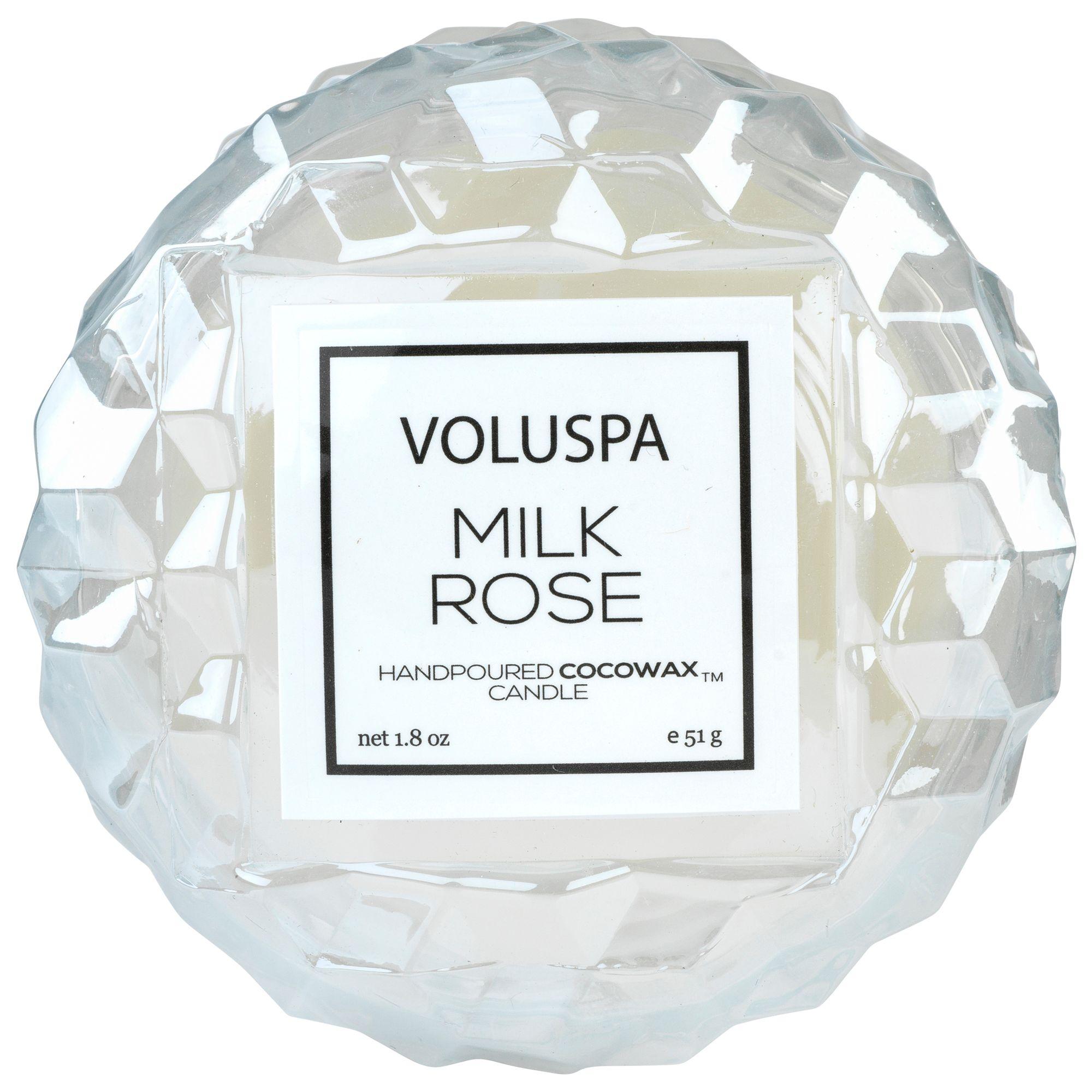 Mini Vela Macaron 15h Milk Rose - Voluspa  - Haus In