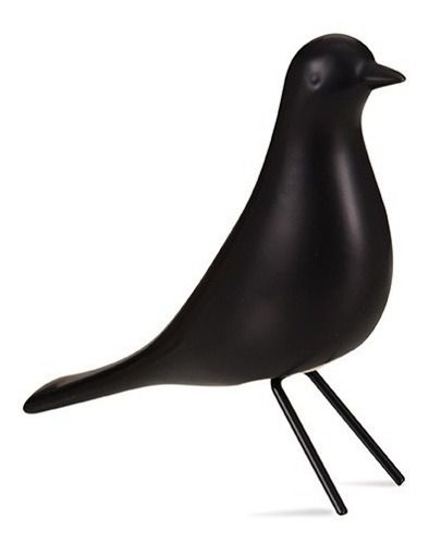 Pássaro Preto em Cerâmica M - Mart Collection