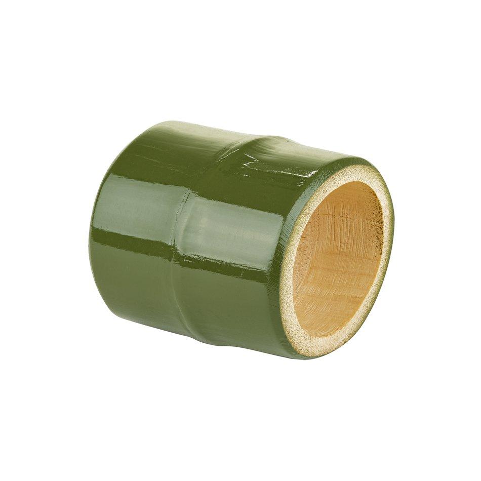 Porta Guardanapo Bambu Verde Musgo - Mameg