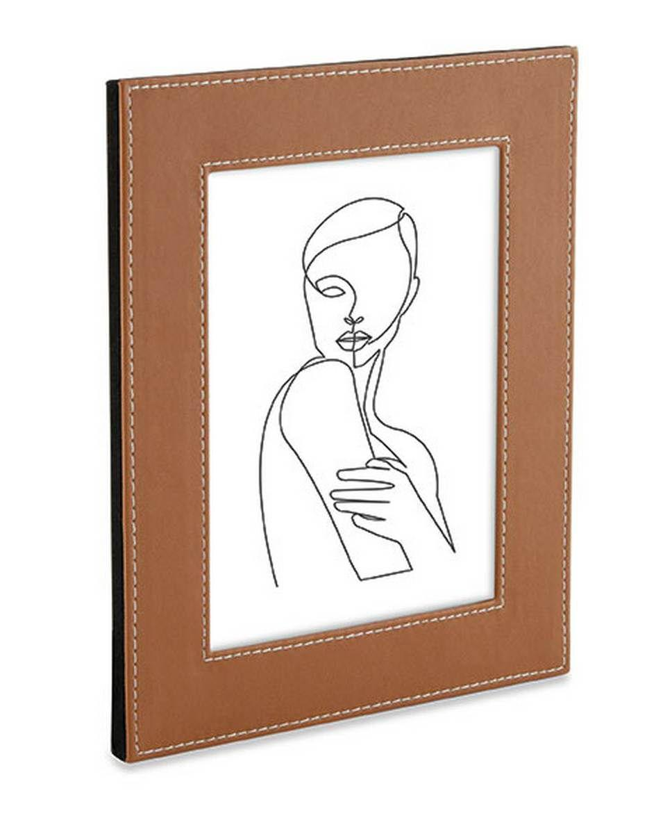 Porta Retrato com Revestimento Sintético - 10x15  - Haus In