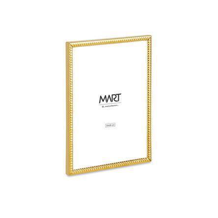 Porta Retrato Dourado em Metal 20x25cm - Mart Collection  - Haus In