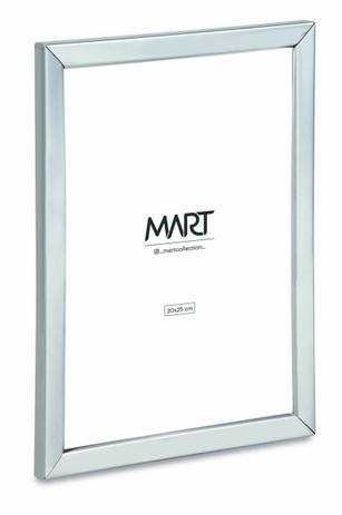 Porta Retrato Prata em Metal 20x25  - Haus In