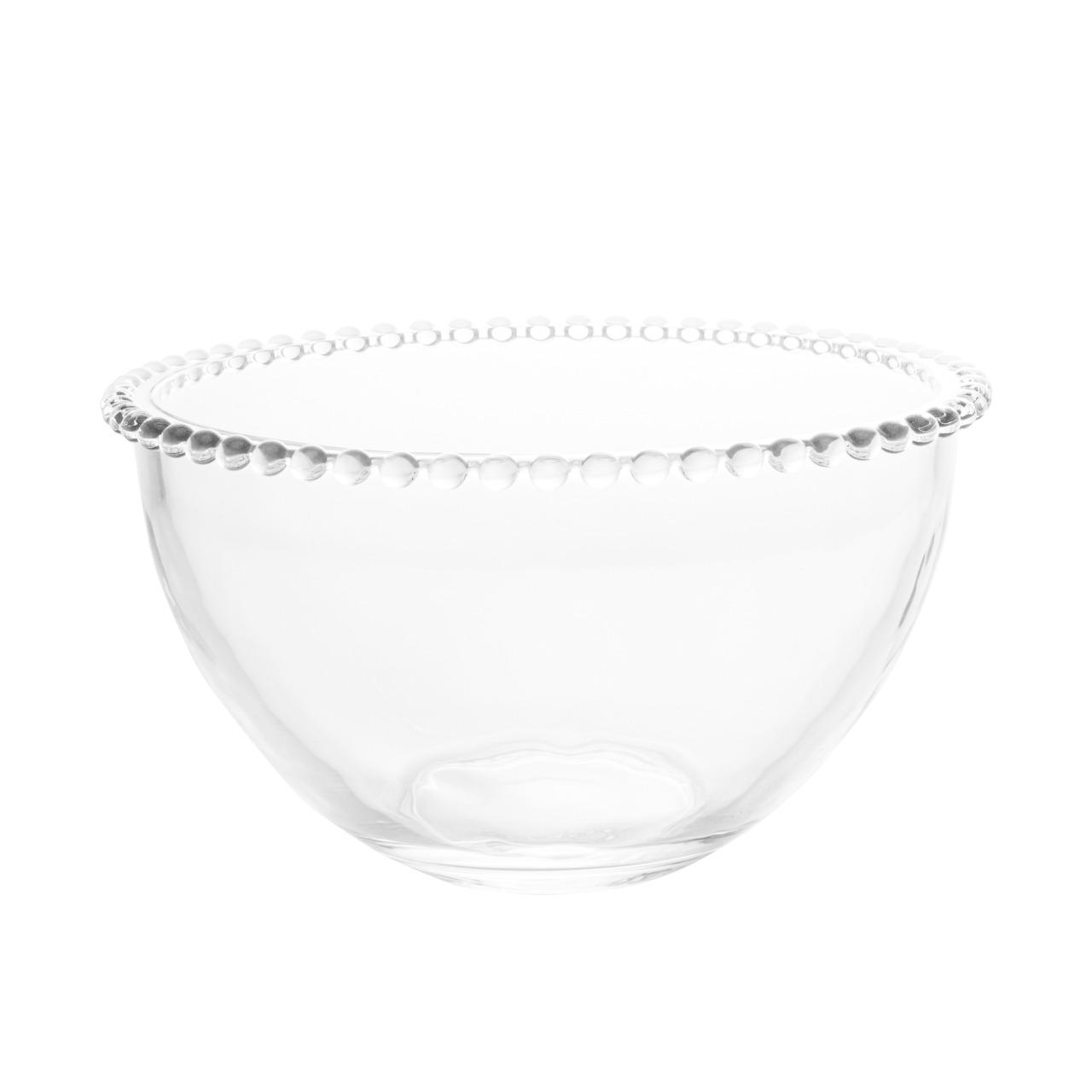 Saladeira Cristal Pearl 21x12cm - Wolff