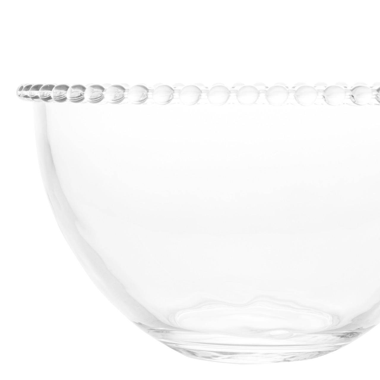 Saladeira Cristal Pearl 21x12cm - Wolff  - Haus In