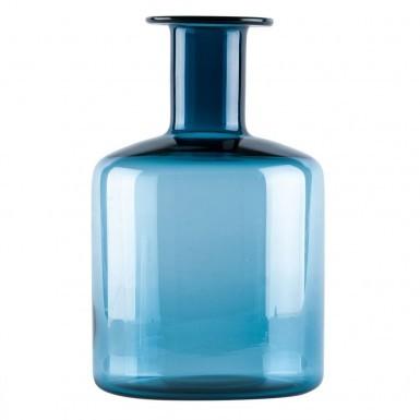 Vaso de Vidro Azul - BTC Decor
