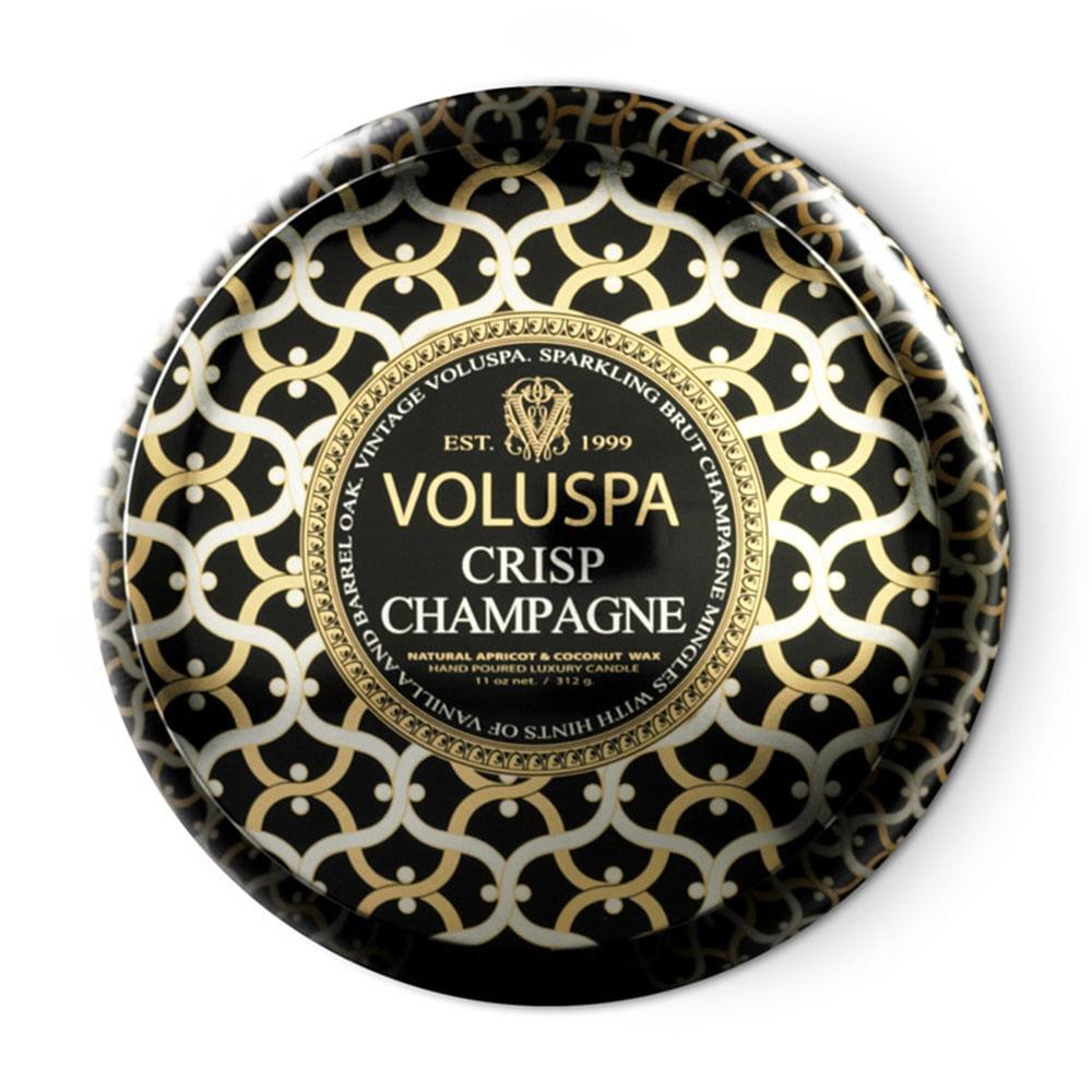 Vela Lata 2 Pavios 50h Crisp Champagne - Voluspa