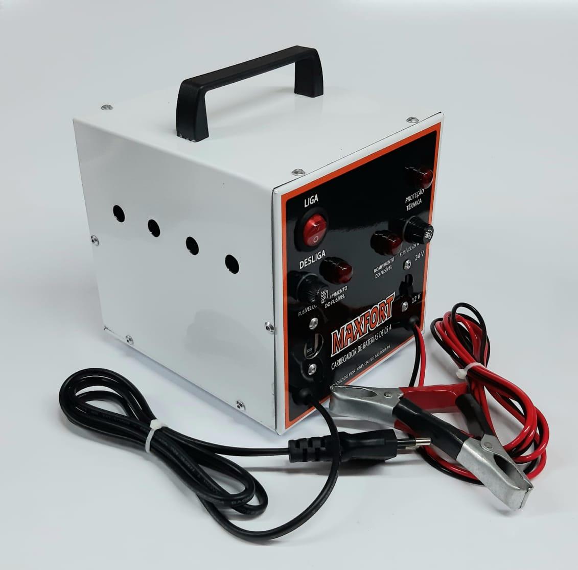 Carregador De Bateria 5A 110/220V - Maxfort
