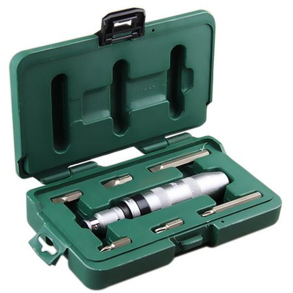 Chave de Impacto Manual c/ Pontas (8 Pçs) - SATA