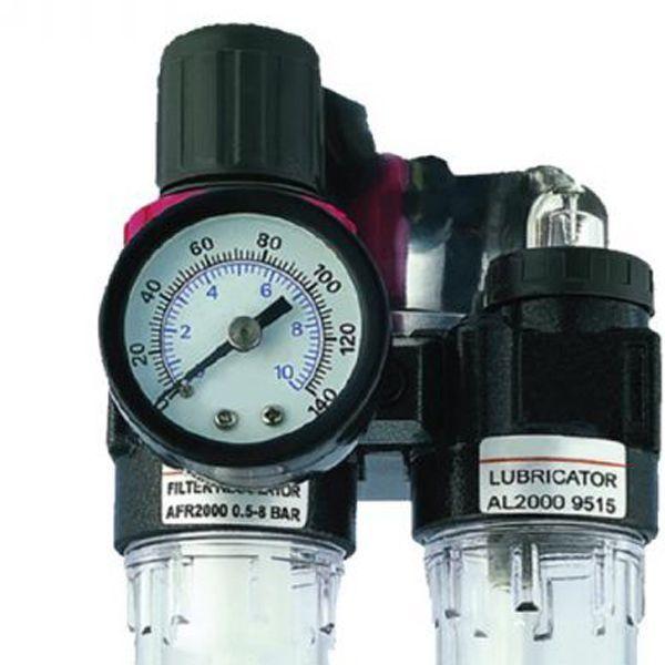 Filtro De Ar Lubrificador E Regulador De Pressão 1/4 - Potente