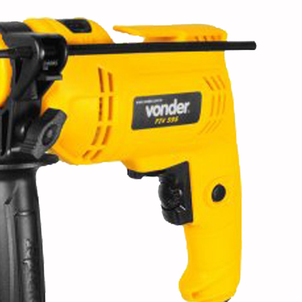 """Furadeira com impacto 3/8"""" 220V  VONDER"""
