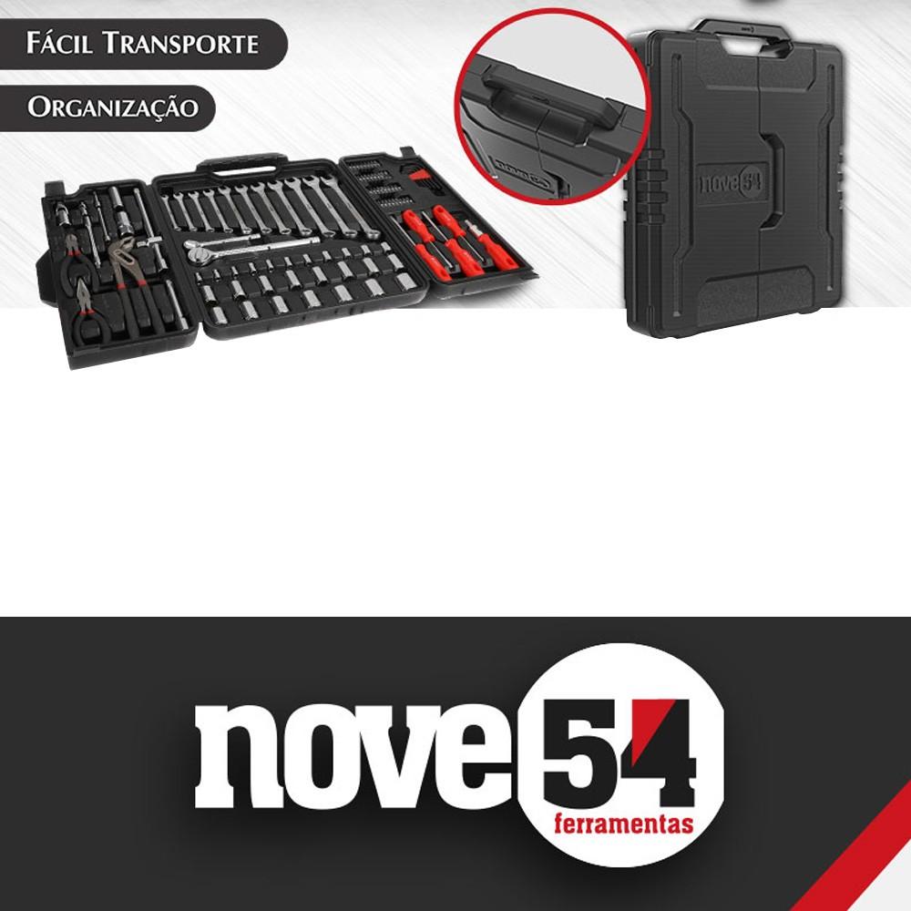 Jogo de ferramentas com 110 peças - NOVE54