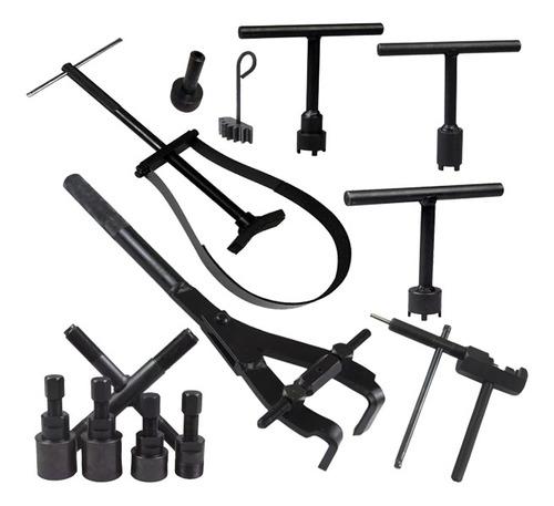 Kit Com 13 Ferramentas Especiais Para Motos