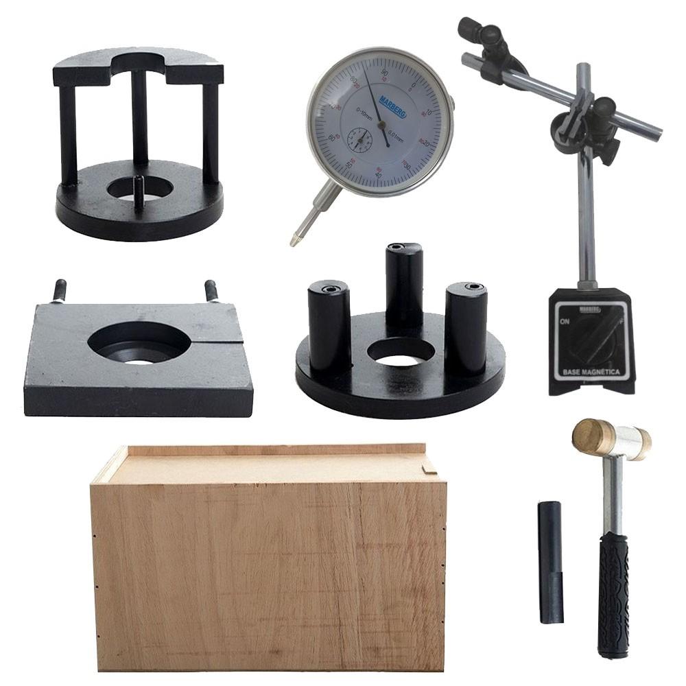 Kit para Montar, Desmontar e Balancear o Virabrequim - Moto