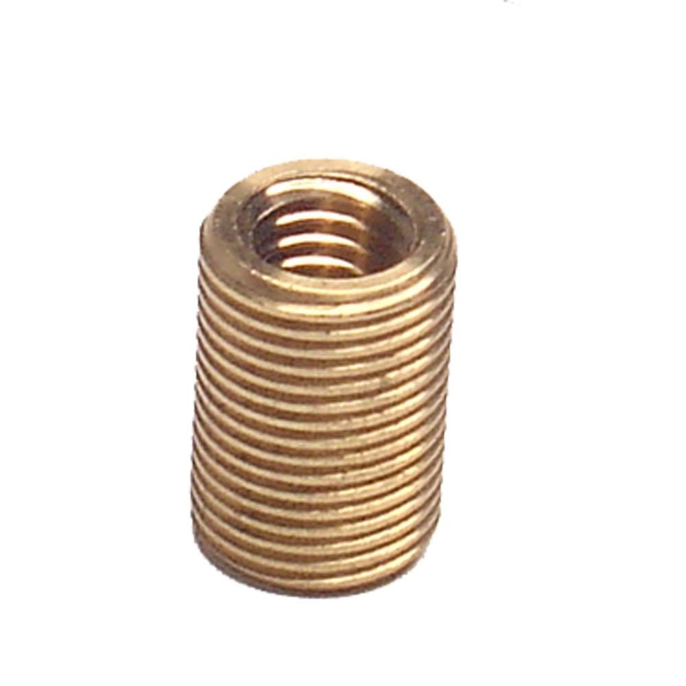 Rosca Postiça Bucha Em Latão M8X1.25 X M10X1.50 X 25Mm (Macho 10X1.50)