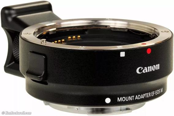 Adaptador De Lente Canon EF-EOS M