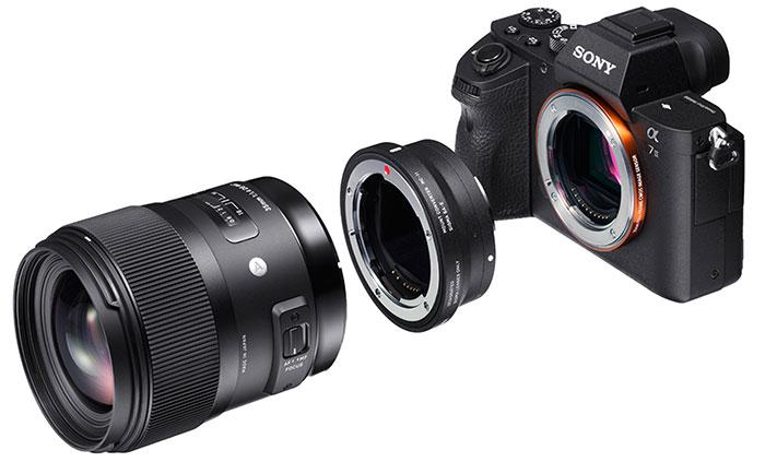 adaptador de lente Sigma MC-11 (lentes de montagem Sigma EF para Sony E)