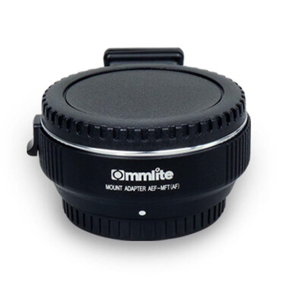 Adaptador Eletrônico Comix de Lente Canon EF e EF-S para Montagem M4/3 (CM-AEF-MFT)