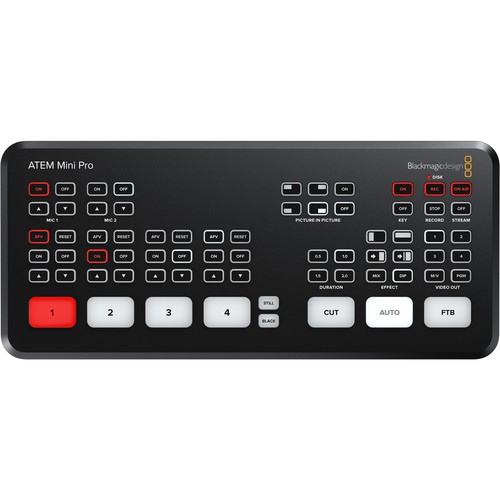 Blackmagic Design  ATEM Mini Pro HDMI Switcher