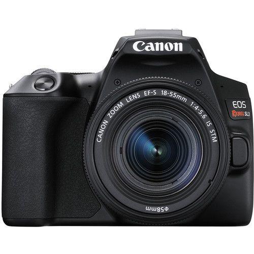 Câmera Digital Canon Preto 24.1mp - Eos Rebel Sl3 | 18-55mm