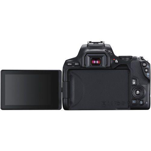 Câmera Canon EOS Rebel SL3 DSLR C/ Lente 18-55mm