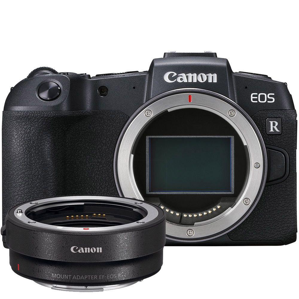 Câmera Canon EOS RP c/ Adaptador EF-EOS R