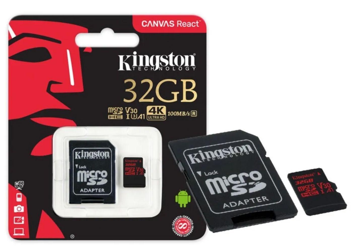 Câmera de Ação GoPro HERO 8 Black 4k com Cartão de memória 32GB 4K Ultra HD SDCR