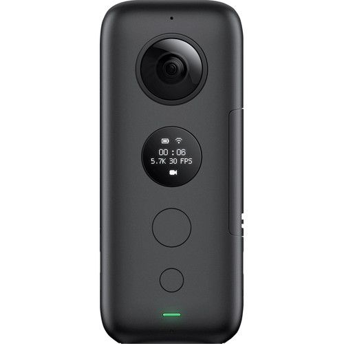 Câmera de ação Insta360 ONE X com bastão selfie