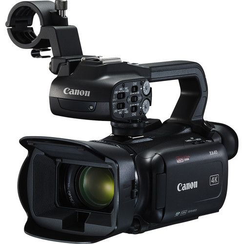Câmera de vídeo profissional Canon XA40 UHD 4K