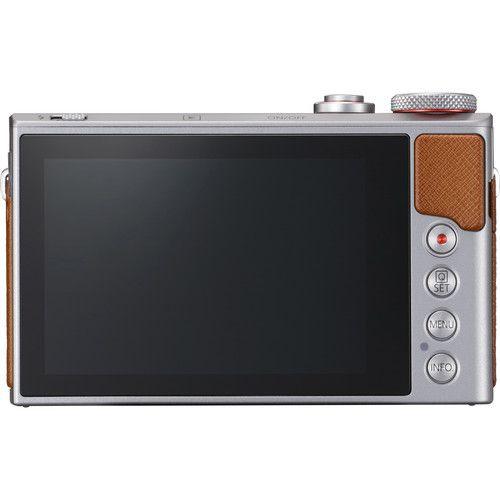 Câmera digital Canon PowerShot G9X Mark II (prata)