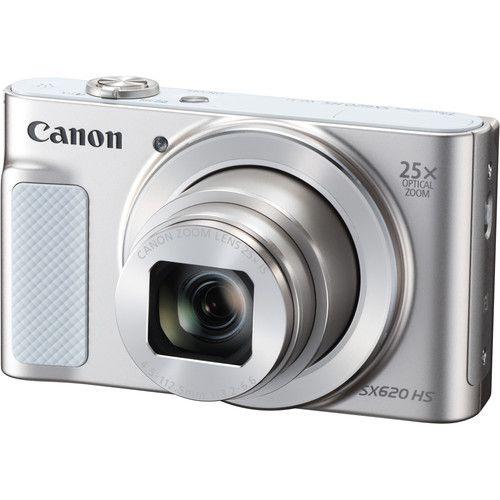 Câmera digital Canon PowerShot SX620 HS (Prata)