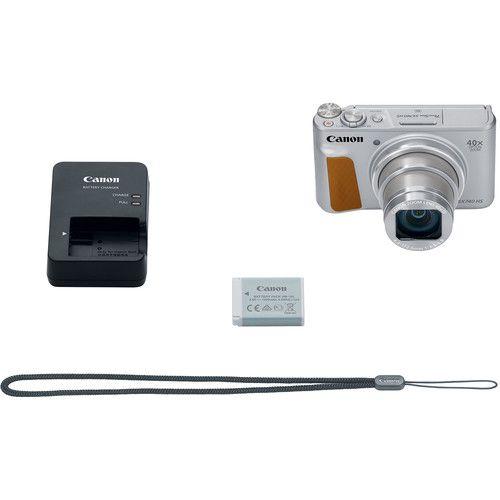 Câmera digital Canon PowerShot SX740 HS (prata)