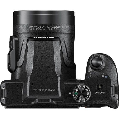 Câmera digital Nikon COOLPIX B600 (preta)