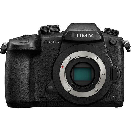 Câmera Digital Panasonic Lumix DC-GH5  Mirrorless 3/4 (apenas o corpo)