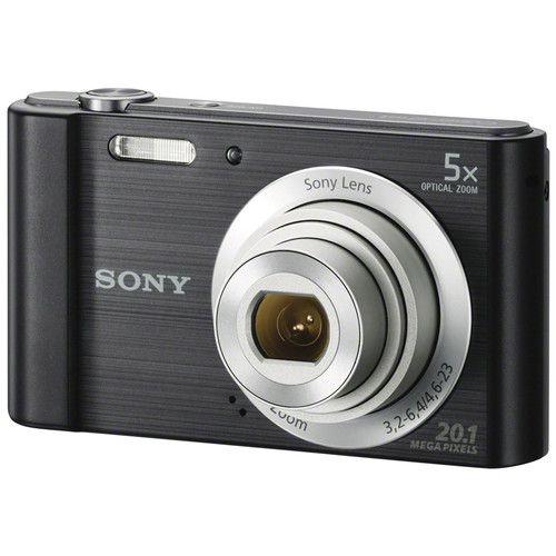 Câmera digital Sony Cyber-Shot DSC-W800 (Preta)