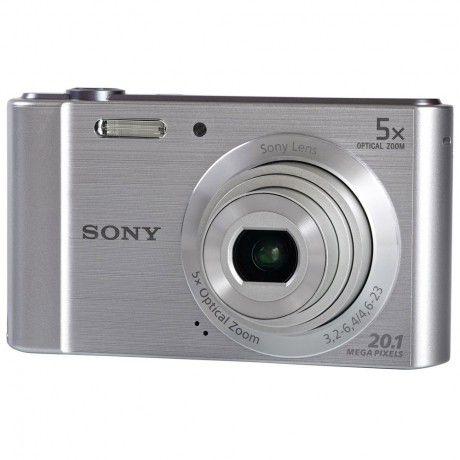 Câmera digital Sony Cyber-Shot DSC-W800 (Prata)