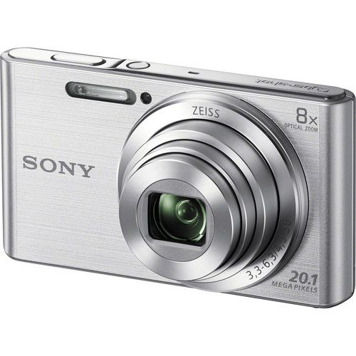 Câmera digital Sony Cyber-Shot DSC-W830 (Prata)
