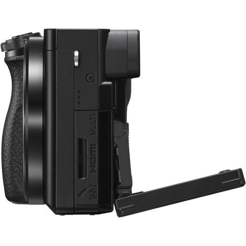 Câmera digital Sony Mirrorless Alpha a6100 c/ lente de 16-50mm