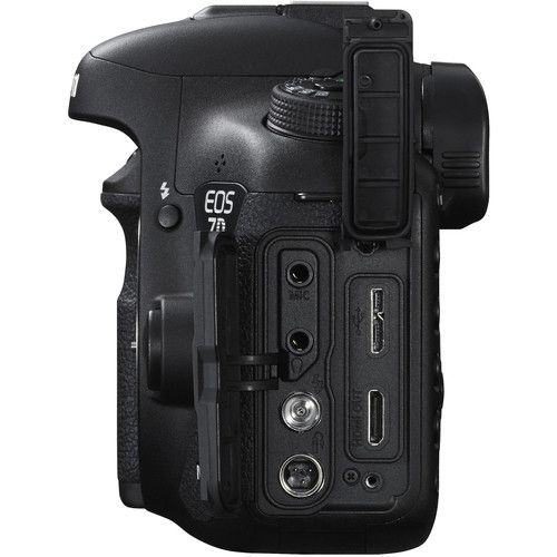 Câmera DSLR Canon EOS 7D Mark II Corpo c/ adaptador W-E1 Wi-Fi