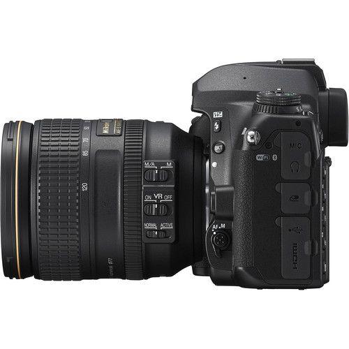 Câmera DSLR Nikon D780 com lente de 24-120mm