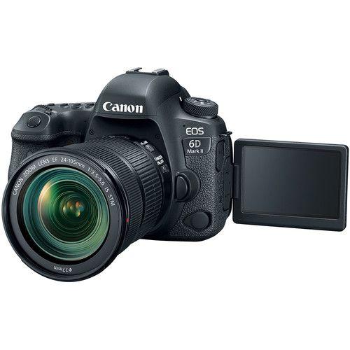 Câmera Canon EOS 6D Mark II DSLR C/ Lente 24-105mm f/3.5-5.6 STM