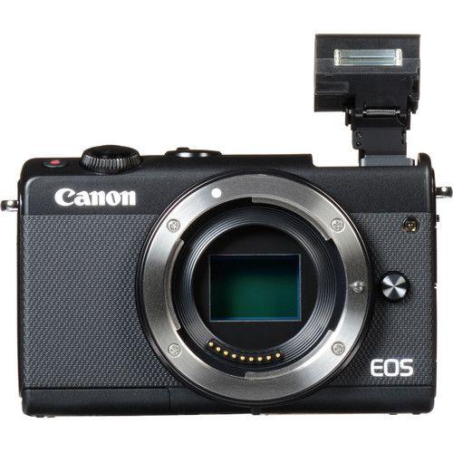 Câmera Canon EOS M100 Mirrorless c/ lente 15-45mm