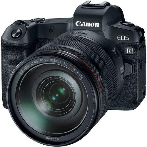 Câmera Canon EOS R  c/ Lente 24-105mm  f/4L IS USM