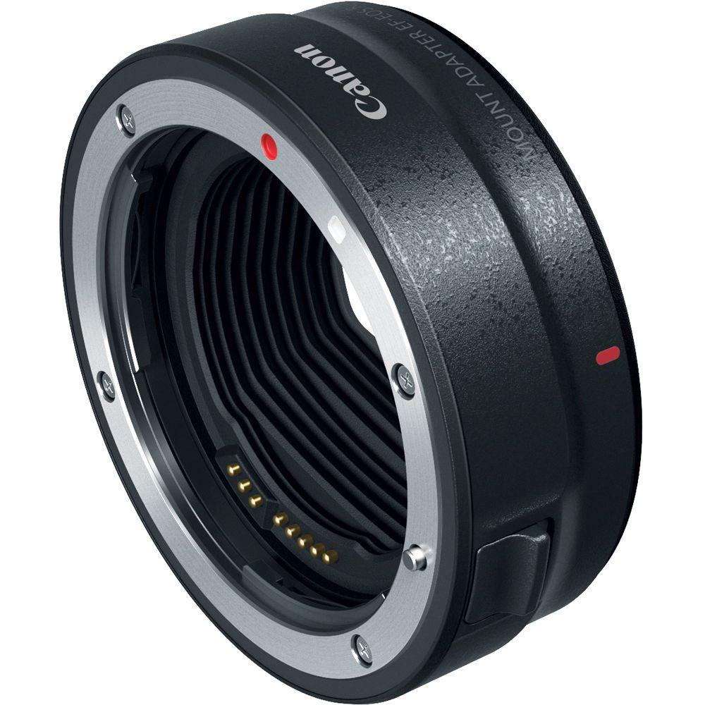 Câmera Canon EOS R Corpo e adaptador EF-EOS R
