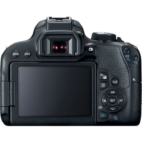 Câmera Canon EOS Rebel T7i DSLR C/ Lente EF-S 18-55mm